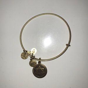 Alex and Ani star of David bracelet